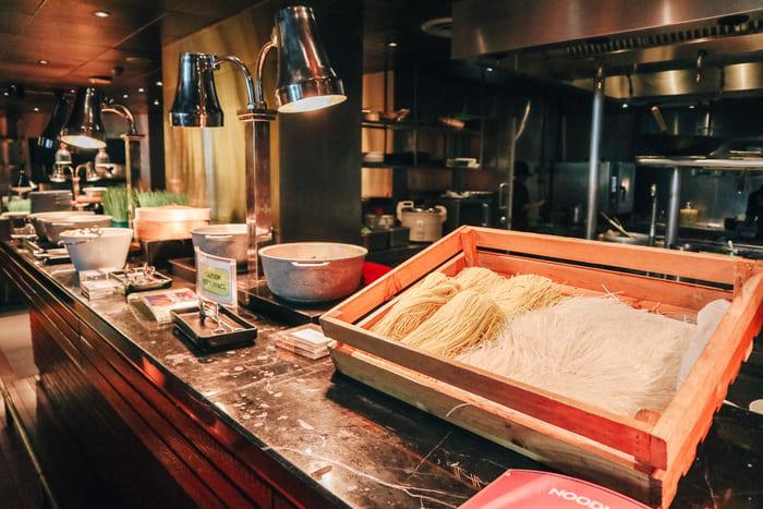 麺のコーナー