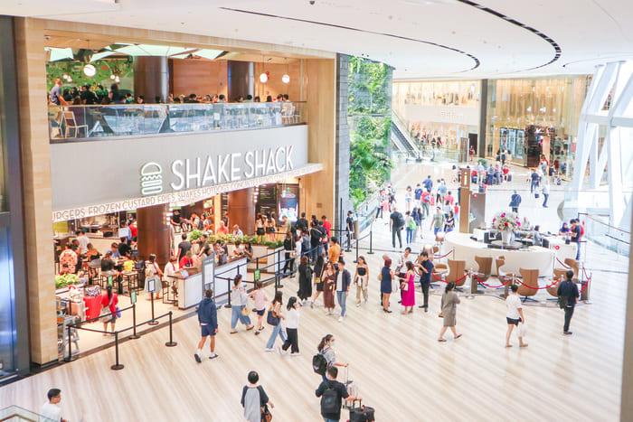 シンガポール第1号店のシェイクシャック