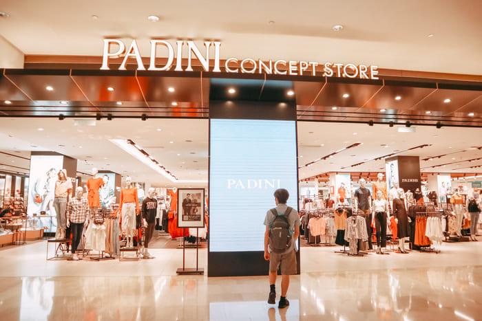 パビリオン4階のPadini Concept Store