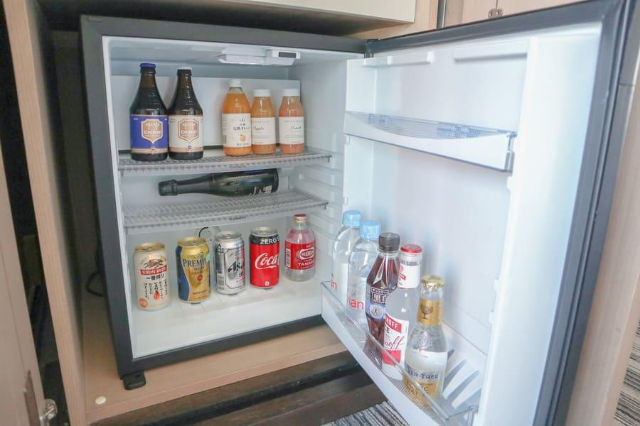 冷蔵庫に入っていたジュースやお酒